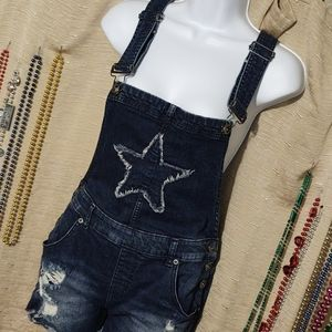 Blackheart Overall Distressed Cutoffs 9